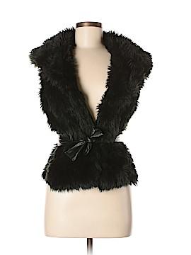Blanc Noir Faux Fur Jacket Size M