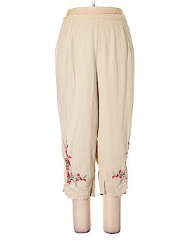 DressBarn Linen Pants Size 24w (Plus)