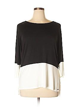 Calvin Klein 3/4 Sleeve Top Size 0X (Plus)