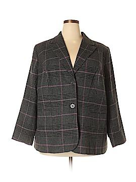 Jessica London Wool Blazer Size 22 (Plus)