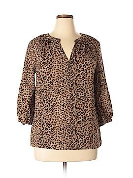 Ava Christine 3/4 Sleeve Blouse Size XL