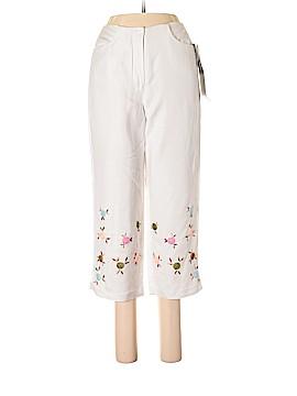 Larry Levine Linen Pants Size 6 (Petite)