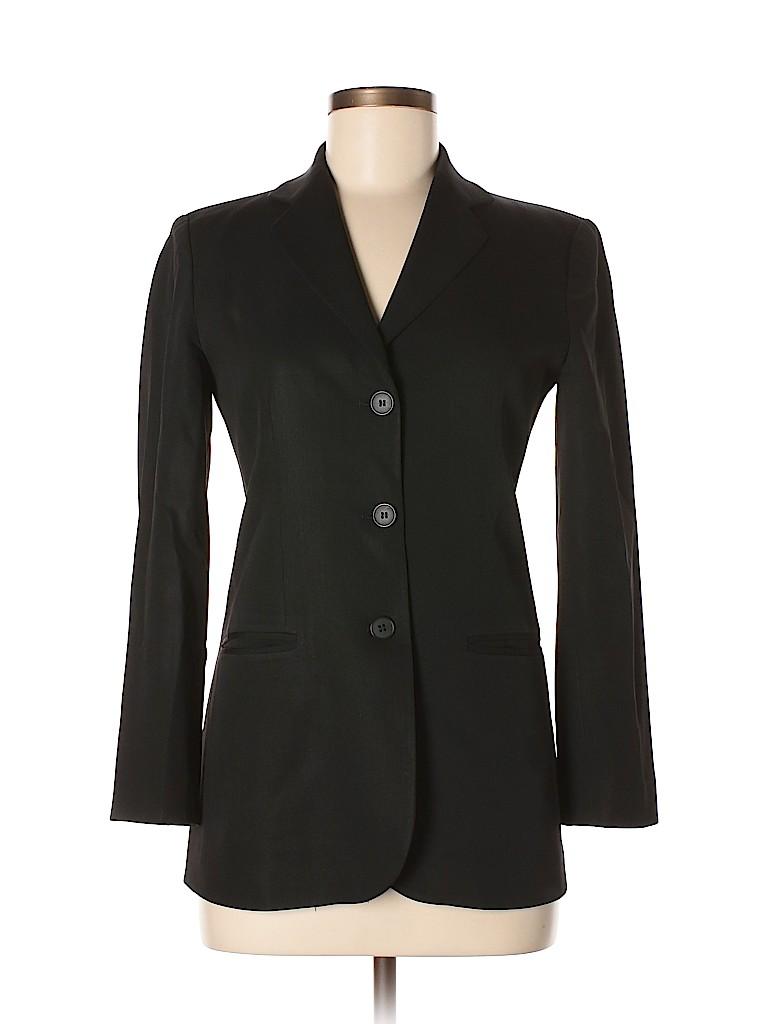 Emporio Armani Women Wool Blazer Size 38 (IT)