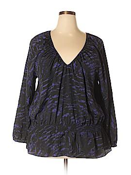 MICHAEL Michael Kors Long Sleeve Blouse Size 3X (Plus)