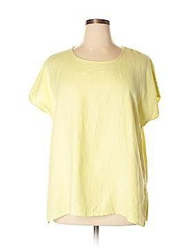Ulla Popken Short Sleeve Blouse Size 14