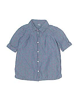 Carter's Short Sleeve Button-Down Shirt Size 5T