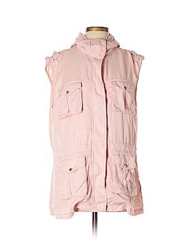 Tinsel Denim Couture Vest Size XL