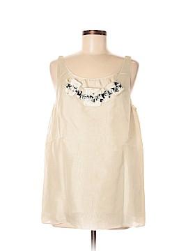 Vera Wang Sleeveless Blouse Size 6