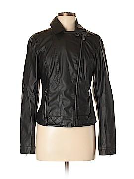Celebrity Pink Faux Leather Jacket Size M