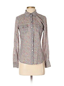Comptoir des Cotonniers Long Sleeve Button-Down Shirt Size 34 (FR)