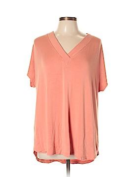 Lou & Grey Short Sleeve Top Size XL