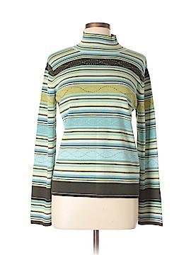 Sigrid Olsen Sport Turtleneck Sweater Size L