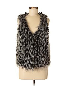Love Stitch Faux Fur Vest Size M