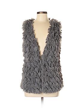 LovPosh Faux Fur Vest Size M