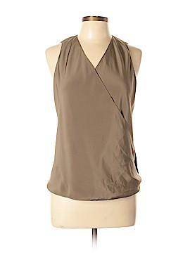 Peter Cohen Sleeveless Silk Top Size L