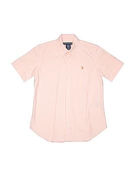 Ralph Lauren Short Sleeve Button-Down Shirt Size S (Youth)