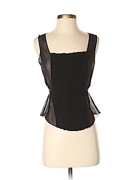 Max Studio Sleeveless Silk Top Size XS (Petite)