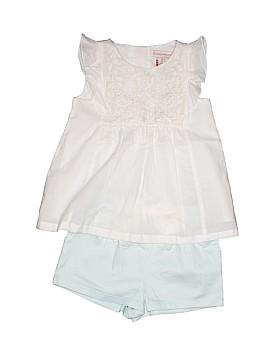 Catherine Malandrino Short Sleeve Blouse Size 12-18 mo