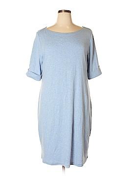 Karen Scott Casual Dress Size 1X (Plus)