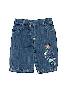 Young Hearts Denim Shorts Size 6-9 mo