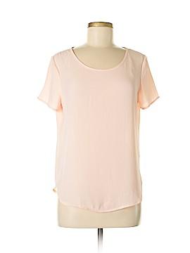 Pleione Short Sleeve Blouse Size S (Petite)