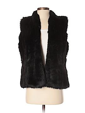 Garnet Hill Faux Fur Jacket Size S
