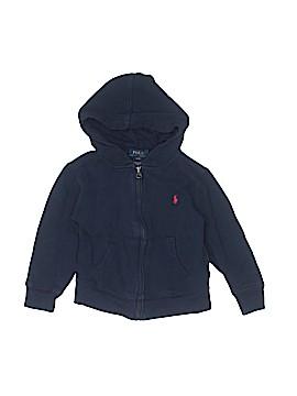 Polo by Ralph Lauren Zip Up Hoodie Size 3T