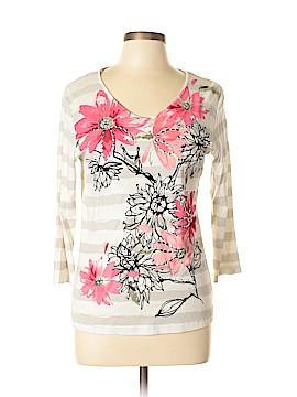 Karen Scott 3/4 Sleeve T-Shirt Size M