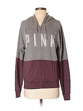 Victoria's Secret Pink Zip Up Hoodie Size S