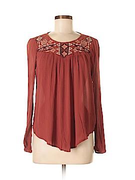 Xhilaration Long Sleeve Blouse Size S (Petite)