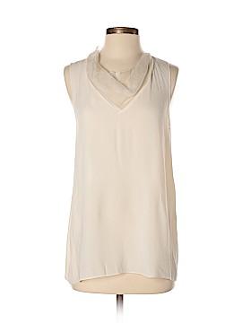 Vera Wang Sleeveless Silk Top Size 4
