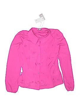 SuperTrash Long Sleeve Blouse Size 14