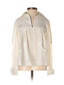 Max Mara Long Sleeve Silk Top Size 34