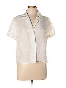 Linda Allard Ellen Tracy Short Sleeve Blouse Size 14