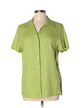 David N Short Sleeve Button-Down Shirt Size XL