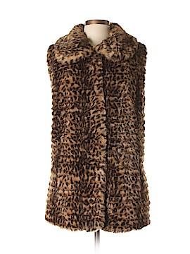 Dennis by Dennis Basso Faux Fur Vest Size L