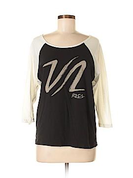 RVCA 3/4 Sleeve T-Shirt Size S