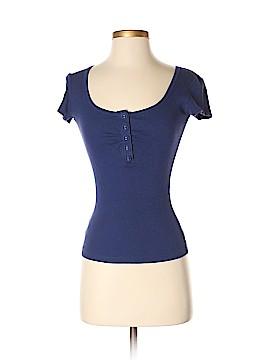 VS Tee Shop Short Sleeve Henley Size XS