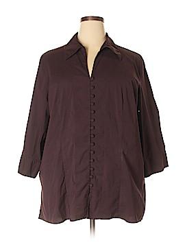 Apostrophe 3/4 Sleeve Blouse Size 24W (Plus)