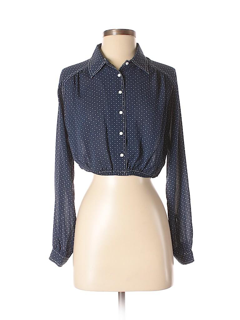 1638679b Pin it Pin It Button Zara Collection Women Long Sleeve Blouse Size S
