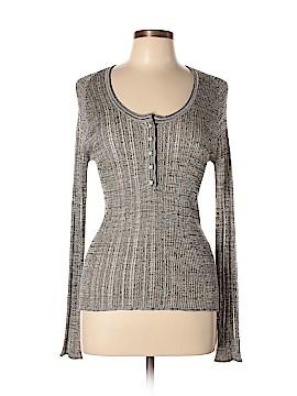 Malo Long Sleeve Silk Top Size L