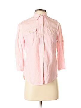 Ralph Lauren 3/4 Sleeve Button-Down Shirt Size S (Petite)
