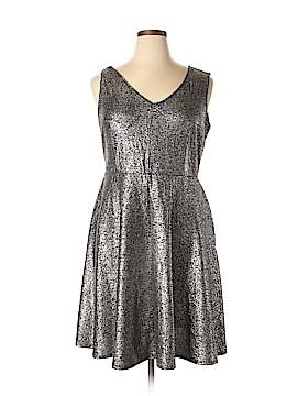 Torrid Casual Dress Size 1X (Plus)