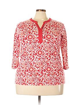 St. John's Bay Long Sleeve T-Shirt Size 2X (Plus)