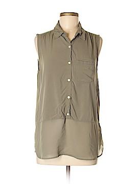 Love 21 Sleeveless Button-Down Shirt Size M