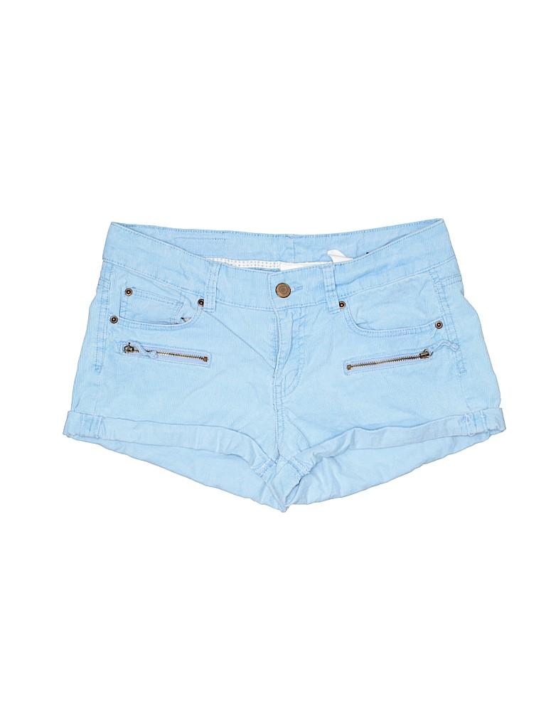 H&M L.O.G.G. Women Khaki Shorts Size 8