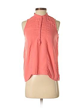 Aeropostale Sleeveless Button-Down Shirt Size S