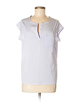Ivanka Trump Short Sleeve Button-Down Shirt Size M