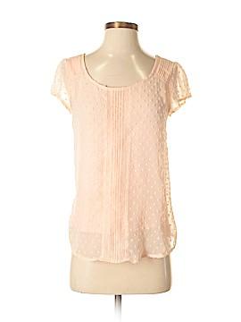 Lauren Conrad Short Sleeve Blouse Size S