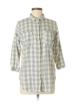 Ellison 3/4 Sleeve Button-Down Shirt Size S